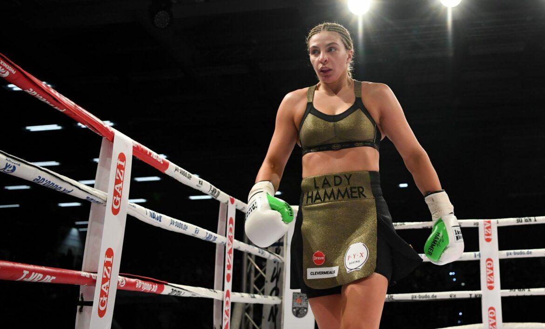 Boxerin Hammer kassiert Niederlage gegen Olympia-Zweite