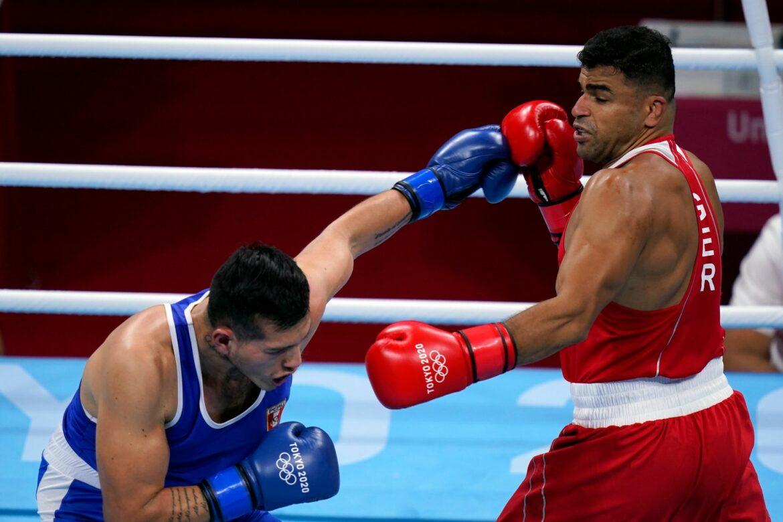 Boxer Abduljabbar nach klarem Sieg im Viertelfinale