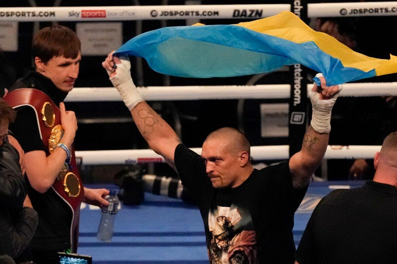 Neuer Schwergewichtskönig: Ukrainer Usyk entthront Joshua